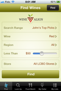 Wine Searches