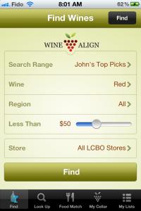 Wine Searches