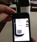 Scan a Bar Code - Find the Wine