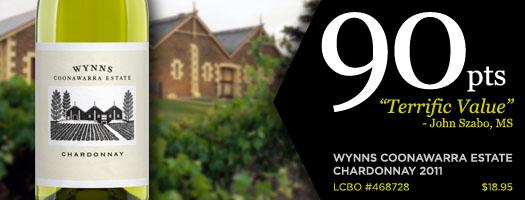 Wynns Coonawarra Estate Chardonnay
