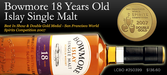 Bowmore 18 Years Old Islay