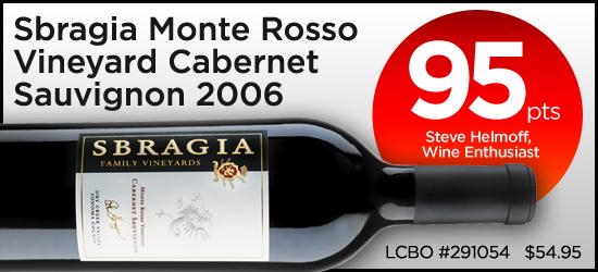 Sbragia Monte Rosso Vineyard Cabnernet Sauvignon