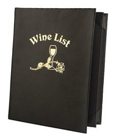 The Wine List Please