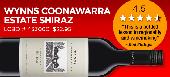 Wynns Coonawarra Estate Shiraz 2010