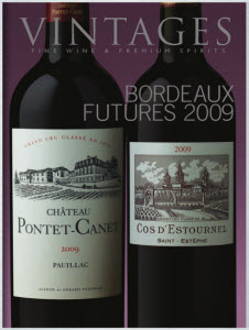 Vintages Bordeaux Futures 2009