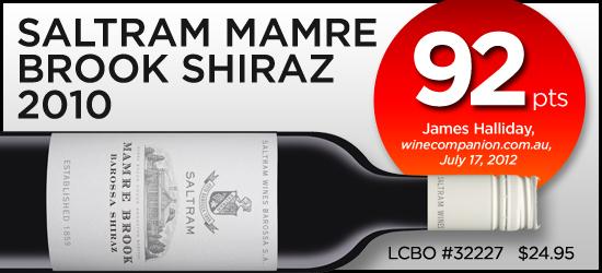 Saltram Mamre Brook Shiraz