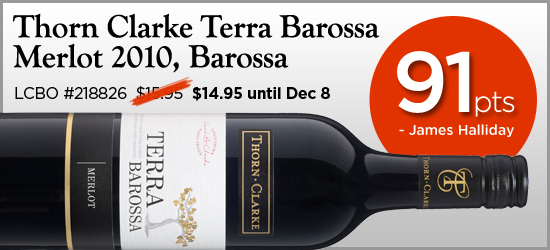 Thorn Clarke Terra Barossa Merlot 2010
