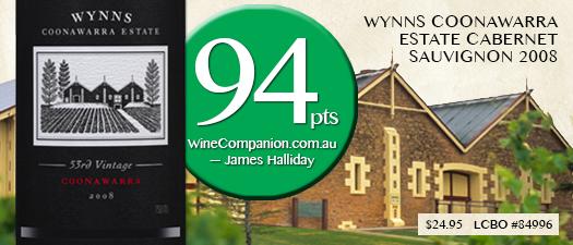 Wynns Coonawarra Estate Cabernet Sauvignon