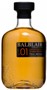 Balblair Single Highland Malt Scotch Whisky 2001