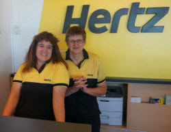 Hertz Rental Car Welcome