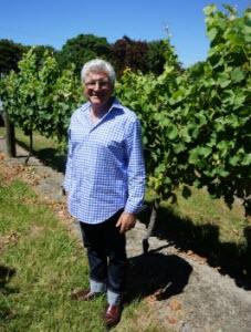 Nick Nobilo and his GW vines