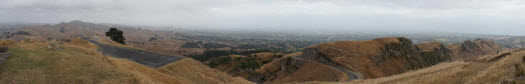 Panorama from the top of Te Mata Peak