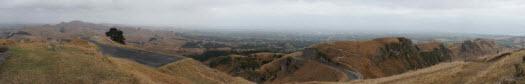 Panorama from the top of Te Mata Peak