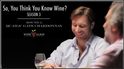 So You Think You Know Wine, Episode 3.1