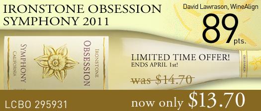 Ironstone Obsession Symphony 2011