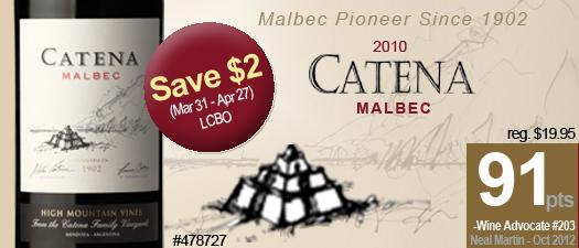 Catena Malbec 2010