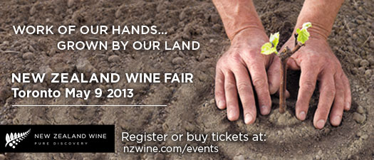 New Zealand Wine Fair - Toronto May 9