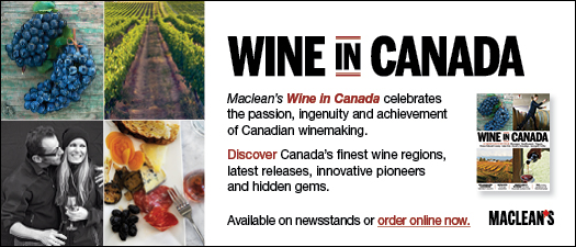 Mclean's Wine in Canada