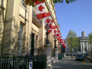 Canada House - photo by Janet Dorosynski