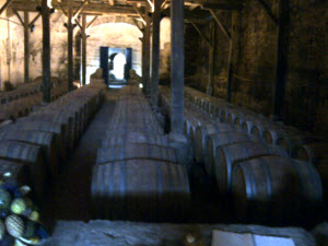 Chateau de Raissac, 17th-century cellar