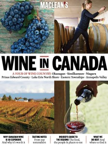 "MacLean's ""Wine in Canada"""