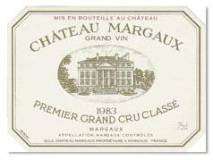 '83 Château Margaux