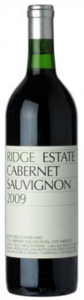 Ridge Estate Cabernet Sauvgnon Merlot 2009