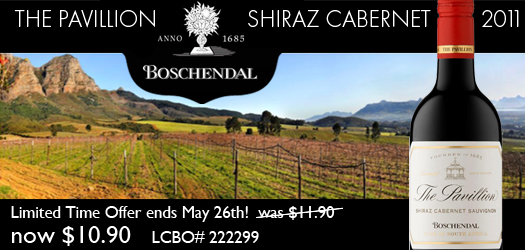 Boschendal The Pavillion Shiraz Cabernet Sauvignon 2011