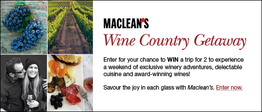 Maclean's Wine Country Getaway