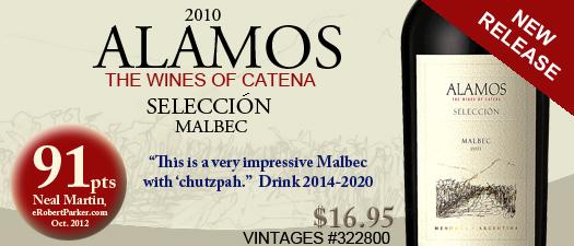 Alamos Selección Malbec 2010