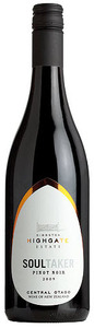 Gibbston Highgate Estate Soultaker Pinot Noir