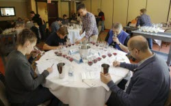 Judging wine - a collective experience