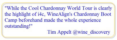 WineAlign Chardonnay Boot Camp
