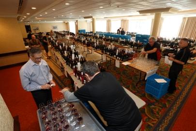 Volunteers and Wines