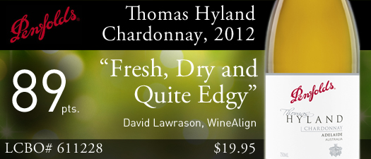 Penfolds Thomas Hyland Chardonnay 2012
