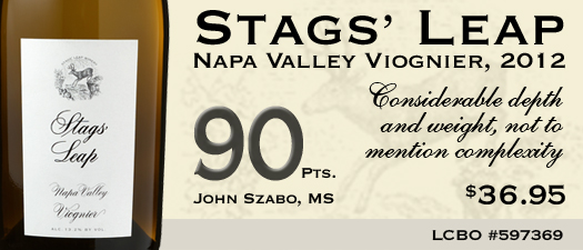 Stags' Leap Winery Viognier 2012