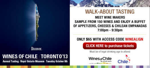 Chilean Wine Festival - Oct 8