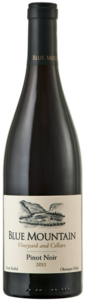 Blue Mountain Pinot Noir 2011