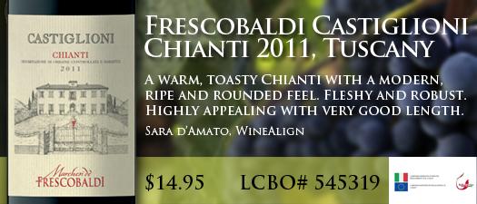 Frescobaldi Castiglioni Chianti 2011