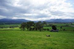 The pastoral Yarra Valley from Yeringberg