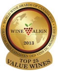 WWAC 2013 Top 25 Value Wines