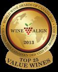 WWAC 2013 Top 25 Value Wines