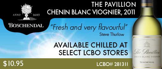 Boschendal The Pavillion Chenin Blanc Viognier 2011
