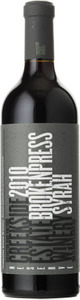 Creekside Broken Press Syrah 2010