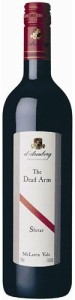 d'Arenberg The Dead Arm Shiraz 2009