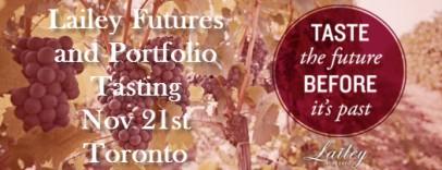 Lailey Futures & Portfolio Tasting