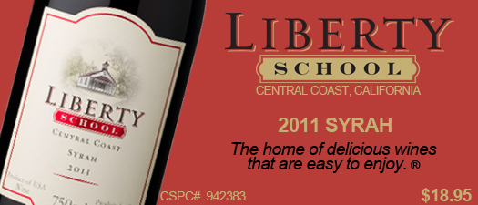 Liberty School Syrah 2011