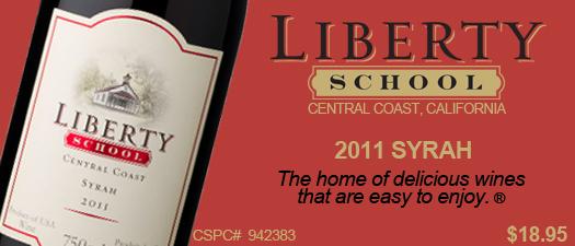 Liberty School Syrah 2011