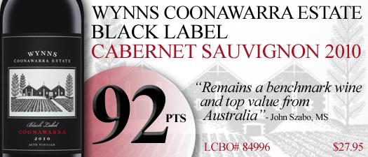 Wynns Coonawarra Estate Black Label Cabernet Sauvignon