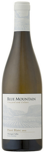 Blue Mountain Pinot Blanc 2012